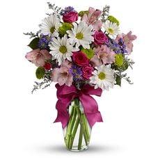 Lilac surprise flowers bouquet
